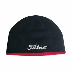Titleist black knit hat